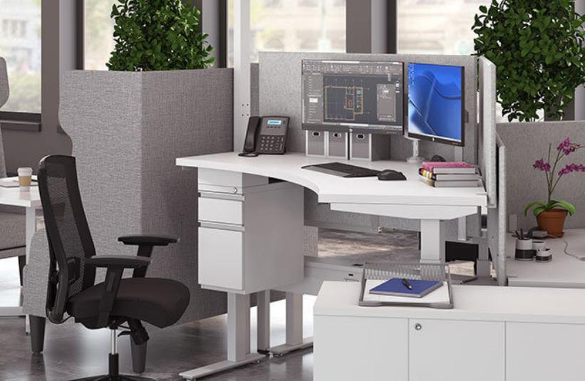 Clear Design Boost Height Adjustable Desking
