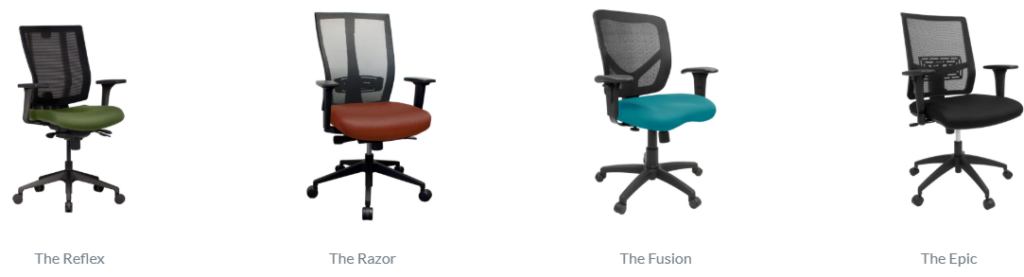 Clear Design Chair Options