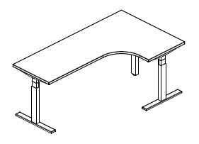 AIS-Day-to-Day-Height-Adjustable-Table-Extended-Corner-Left