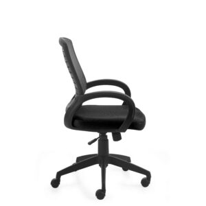 OfficesToGo-OTG10902B-Mesh-Back-Tilter-Chair-Right-View