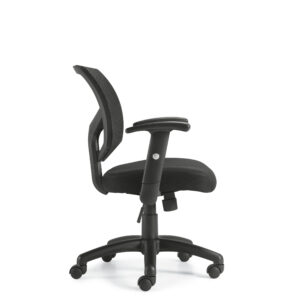 OfficesToGo-OTG11514B-Mesh-Mid-Back-Tilter-Right-View