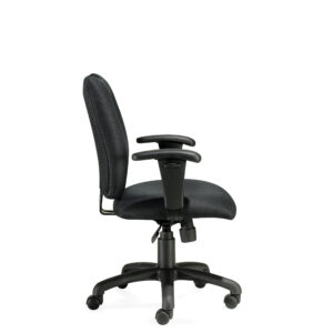 OfficesToGo-OTG11612B-Managerial-Tilter-Chair-Right-View