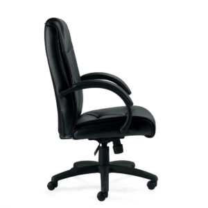 OfficesToGo-OTG11618B-Luxhide-Executive-Tilter-Chair-Right-View