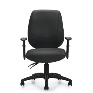 OfficesToGo-OTG11631B-Multi-Function-Chair-Front-View