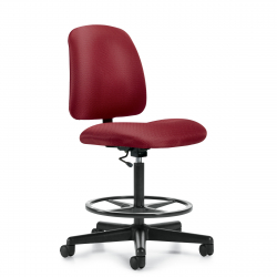 OfficesToGo-OTG11650-Task-Armless-Stool-Front-Right-View