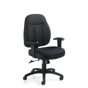 OfficesToGo-OTG11651-Low-Back-Tilter-Chair-Front-Right-View