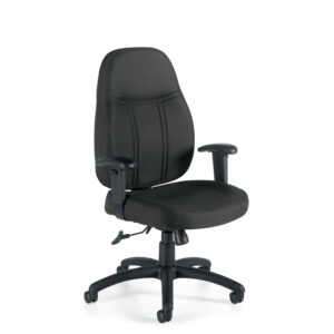 OfficesToGo-OTG11652-Managerial-High-Back-Chair-Front-Right-View