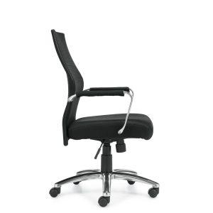 OfficesToGo-OTG11657B-Mesh-Tilter-Chair-Right-View
