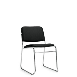 OfficesToGo-OTG11697-Stack-Armless-Chair-Front-Right-View