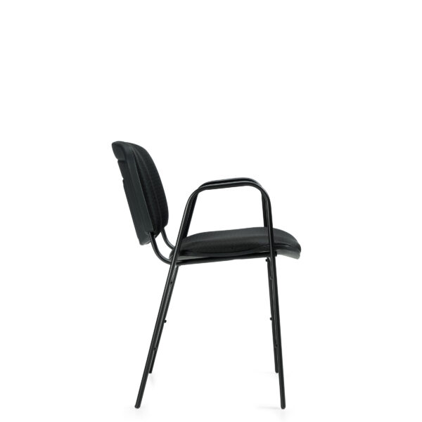 OfficesToGo-OTG11703-Stack-Arm-Chair-Right-View