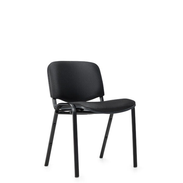 OfficesToGo-OTG11704-Stack-Armless-Chair-Front-Right-View