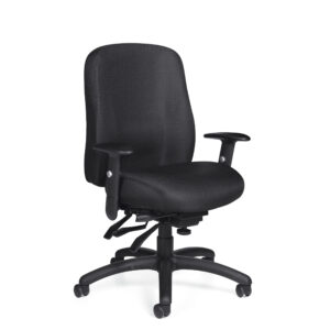 OfficesToGo-OTG11710-Multi-Function-Chair-With-Arms-Front-Right-View