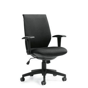 OfficesToGo-OTG11715B-Task-Synchro-Tilter-Chair-Front-Right-View