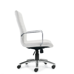 OfficesToGo-OTG11730B-Luxhide-High-Back-Chair-White-Right-View