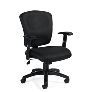 OfficesToGo-OTG11850B-Tilter-Ergonomic-Chair-Front-Right-View