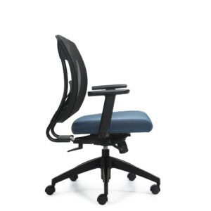 OfficesToGo-OTG2801-Mesh-Synchro-Tilter-Chair-Right-View
