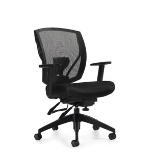 OfficesToGo-OTG2803-Mesh-Multi-Function-Chair-Front-Right-View