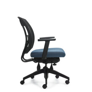 OfficesToGo-OTG2803-Mesh-Multi-Function-Chair-Right-View