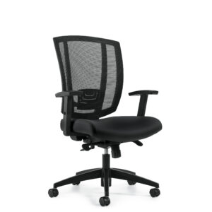 OfficesToGo-OTG3101-Mesh-Synchro-Tilt-Chair-Front-Right-View