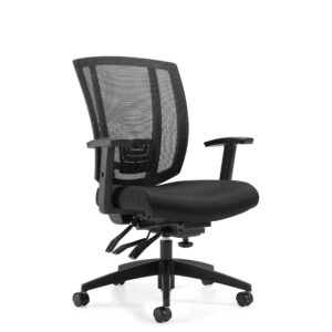 OfficesToGo-OTG3103-Mesh-Back-Multi-Function-Chair-Front-Right-View