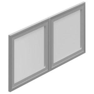 OfficesToGo_SL36SIDR_36_Silver_Hutch_Doors
