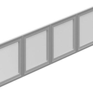 OfficesToGo_SL66SIDR_66_Silver_Hutch_Doors