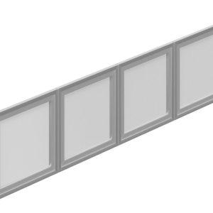 OfficesToGo_SL71SIDR_71_Silver_Hutch_Doors